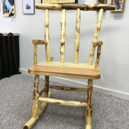 Chair of pine, fir - Mel Cheney - Tendoy Fine Art