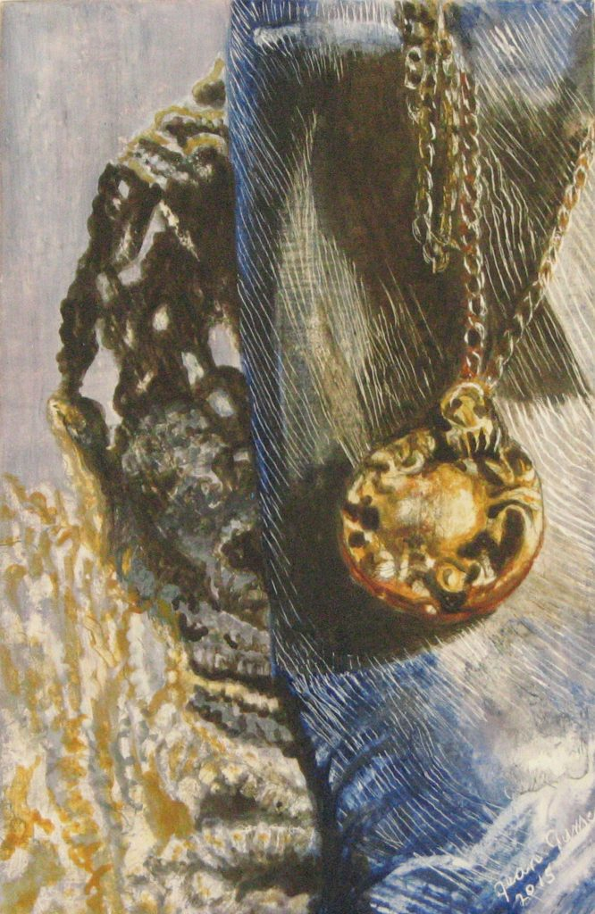 Locket and Lace - Jean James - Tendoy Fine Art