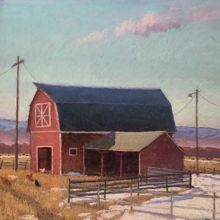 Nyhart Barn - Colleen K Howe - Tendoy Fine Art