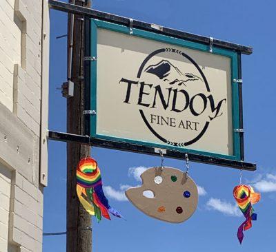 tendoy fine art gallery sign